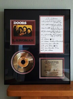 The Doors L.A, Woman Presentation Disc. Limited Edition Numbered 666/2500  • 90£