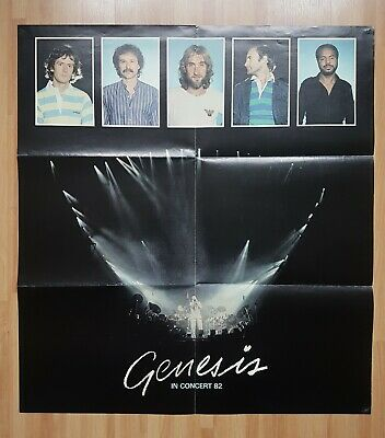 Genesis UK Tour Poster 'Encore Tour' 1982 • 5.50£