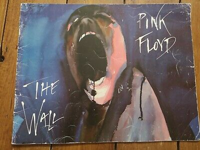 Concert Programme Pink Floyd The Wall 1981 Plus 6 Post Cards And Ticket Stub • 0.99£