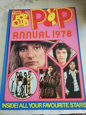 Pop Annual 1978 By The Daily Mirror - Like New • 0.99£