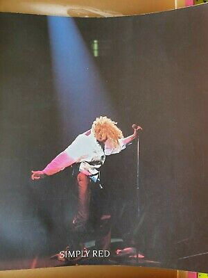 Simply Red  A New Flame World  Tour Programme, Music Memorabilia  • 1.99£