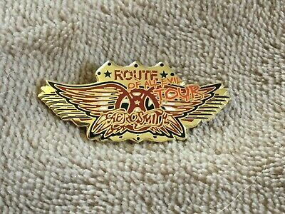 Aerosmith Collector's Pins - ROUTE OF ALL EVIL • 3.18£