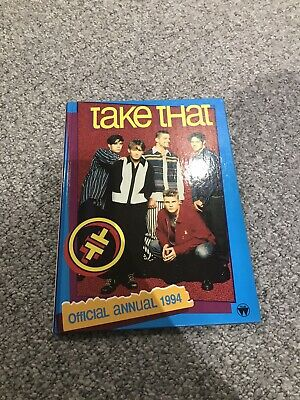 Official Take That Annual 1994 - Hardback Book  • 1.50£