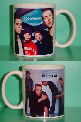 COLDPLAY - With 2 Photos - Designer Collectible GIFT Mug • 10.34£