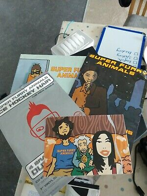 Super Furry Animals Flyers, Postcards, And Poster From Play It Cool • 6£