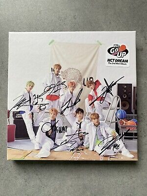 NCT Dream We Go Up Signed Autographed Signed Promo 2nd Mini Album  • 300£
