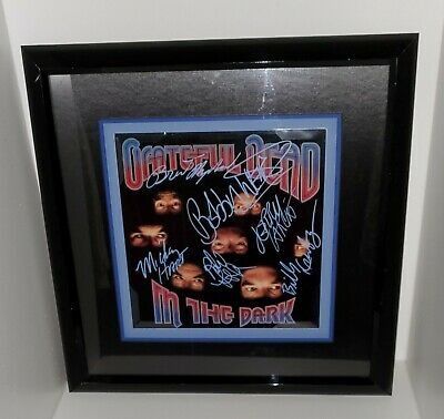 Grateful Dead 1987 Album In The Dark Facsimile Signed Triple Matted 21X21 Frame • 250.34£