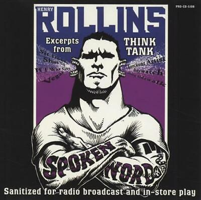 Henry Rollins Excerpts From Think Tank USA CD Album (CDLP) Promo PRO-CD-5108 • 15.49£