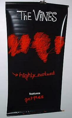 Vines Get Free USA Display Promo BANNER CAPITOL 2002 • 46.25£