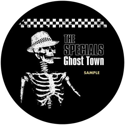 The Specials Ghost Town 2 Tone Decal Vinyl Sticker 100mm Buy 2 Get 1 Free  Ska • 2£