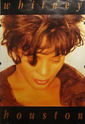 Whitney Houston 23x35 Close Up Music Poster 1994 • 11.56£