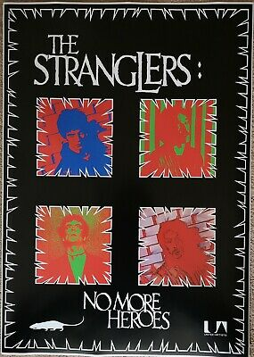 The Stranglers No More Heros Poster  • 18£