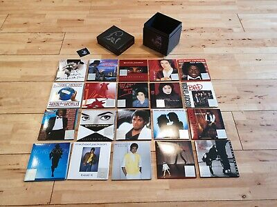 Michael Jackson Visionary Box Set Complete Collectable Rare Ltd Edition • 120£