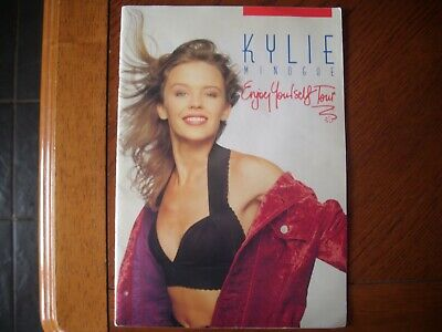Kylie Minogue Enjoy Yourself Tour Programme • 24.99£