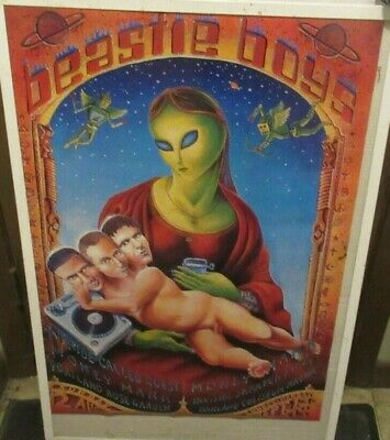 Beastie Boys Poster New 1999 Rare Vintage Collectible Oop  • 10.80£