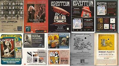 LED ZEPPELIN : CUTTINGS COLLECTION - Adverts  • 5£