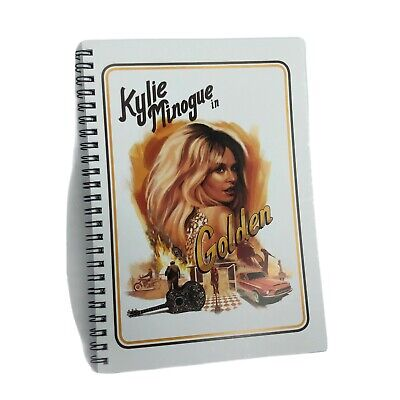 Kylie Minogue In Golden A5 Note Pad Design Drawing Book  • 7.89£