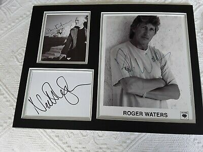 Pink Floyd  Roger Walters Dave Gilmour Nick Mason Signed  • 795£