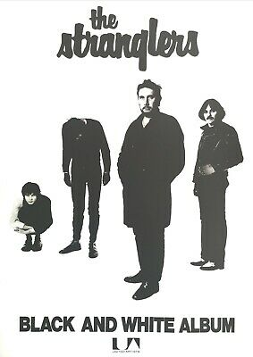 The Stranglers Black And White Poster  • 18£