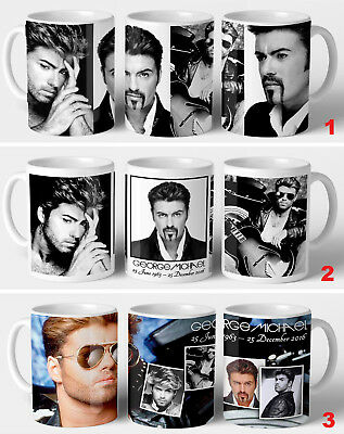 George Michael Commemorative Gift Mug • 8.99£