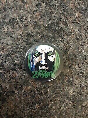 Rob Zombie 32mm Pin Button Badge. • 1.40£