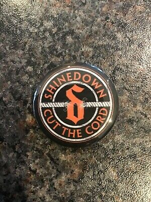 Shinedown Cut The Cord 32mm Pin Button Badge. • 1.40£