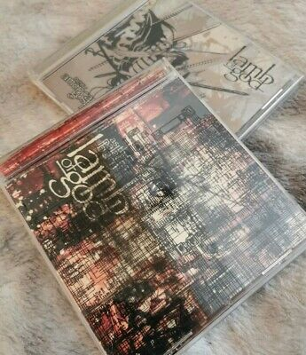 2 SIGNED By Randy Blythe Lamb Of God Albums, As The Palaces Burn + New American • 30£