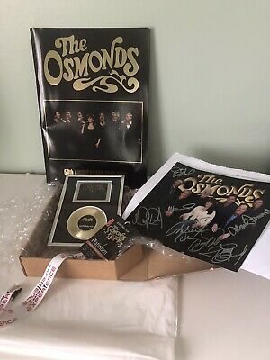 The Osmonds 50 Th Anniversary Official Meet & Greet Bundle • 25£