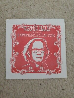 Ernie Ball Eric Clapton Experience Competition Code 2011 • 3.50£