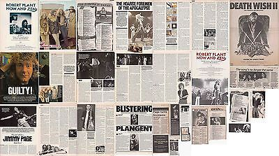 LED ZEPPELIN : CUTTINGS COLLECTION - 1980s  Clippings • 5£