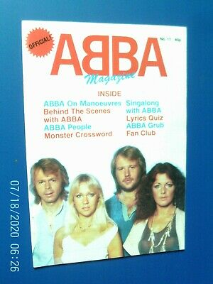 Abba Official Magazine - Number 11        1978 • 4.99£