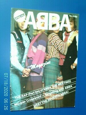 Abba Official Magazine - Number 9 • 4.99£