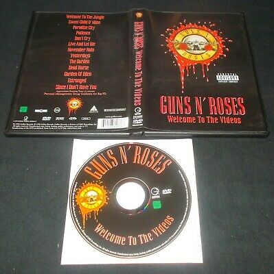 Guns N'roses - Welcome To The Videos (1998 Geffen Records Dvd) • 2.99£