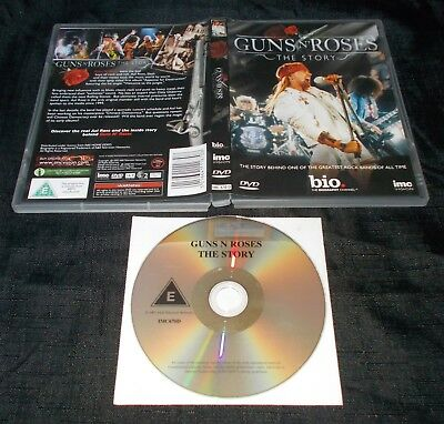 Guns'n'roses - The Story (2007 A&e Television Networks Dvd)  Region 2 • 2.49£