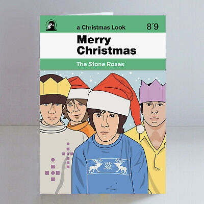 The Stone Roses A5 Christmas Card Ian Brown Madchester Indie • 2.99£