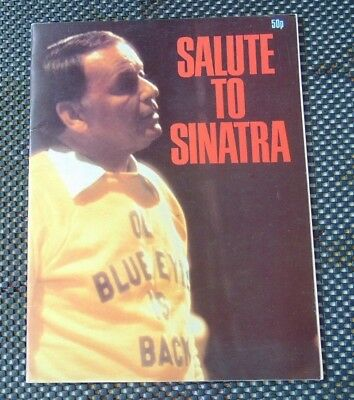 Salute To Sinatra , A Magazine Format Book Authored By Hal Shaper • 4.95£