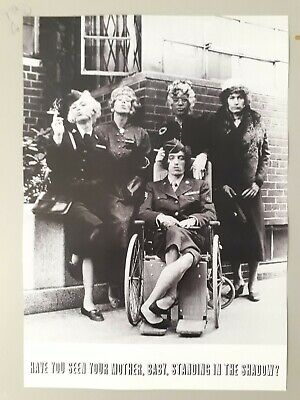 Rolling Stones Promotional Poster - Have You Seen Your Mother 1966 Reprint A3  • 3.99£