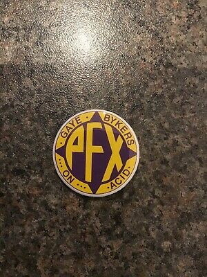 Gaye Bykers On Acid PFX 32mm Pin Badge • 1.90£