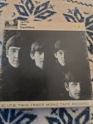 The Beatles 1963  With The Beatles  Mono Reel To Reel Tape TA-PMC 1206 (UK) • 9.70£