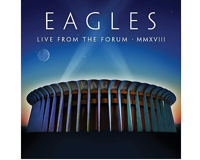 EAGLES LIVE FROM THE FORUM MMXVIII 2 CD SET (New Release 16/10/20) IN STOCK • 10.99£