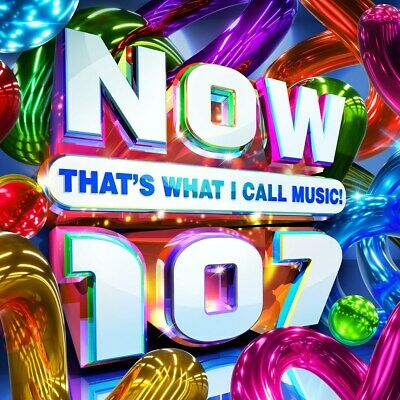 NOW That's What I Call Music! 107 - Various Artists (Album)  RELEASED 27/11/2020 • 12.99£