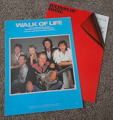 Dire Straits Walk Of Life Sultans Of Swing Rare Sheet Music  • 6£