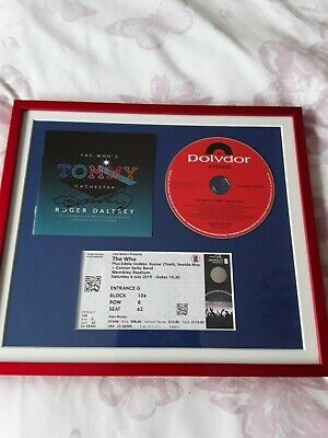 The Who Tommy Roger Daltrey Signed  • 125£