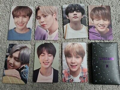 Genuine BTS Samsung Galaxy S20+ Photocards Full Pack. New Boxed  • 25£
