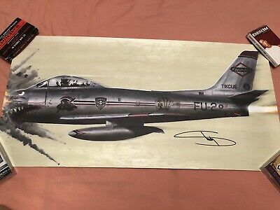 Eminem Hand Signed Kamikaze 24x12 Lithograph From Official Store Rare • 420£