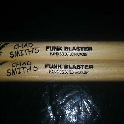 Red Hot Chili Peppers DRUMSTICKS Chad Smith RHCP Concert DRUM STICKS • 18.52£
