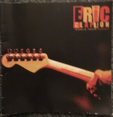 Eric Clapton Tour Programme - World Tour 2006-2007 • 1.99£
