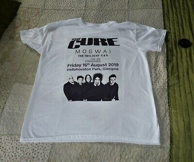 The Cure Glasgow Gig T Shirt August 2019  • 30£