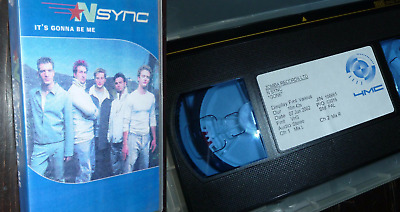 N SYNC Gone Gonna Be Me UK Promo VHS VIDEO LOT Justin Timberlake Promotional • 4.99£