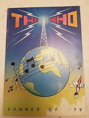 The Who - UK Summer Tour Programme 1979  • 5£